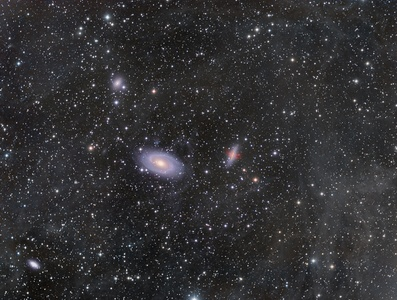 M81 M82 and around