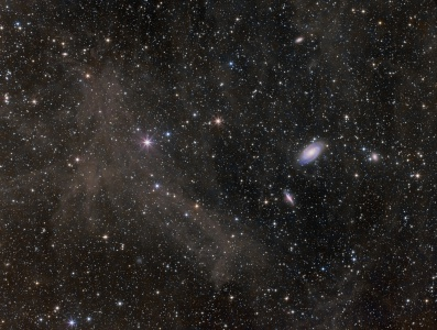M81-82 galaxies and surrounding